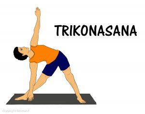 Trikonasana