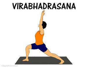 Virabhadrasana 1