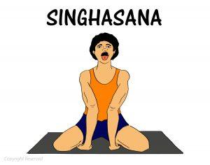 Singhasana