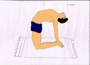 ustrasana benefits procedure yoga images  101yogasan