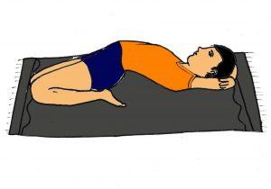 supta vajrasana steps precautions benefits  101yogasan