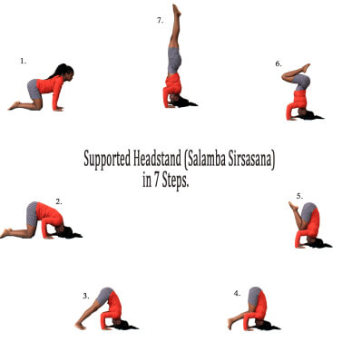 sirsasana procedure benefits precautions  101yogasan